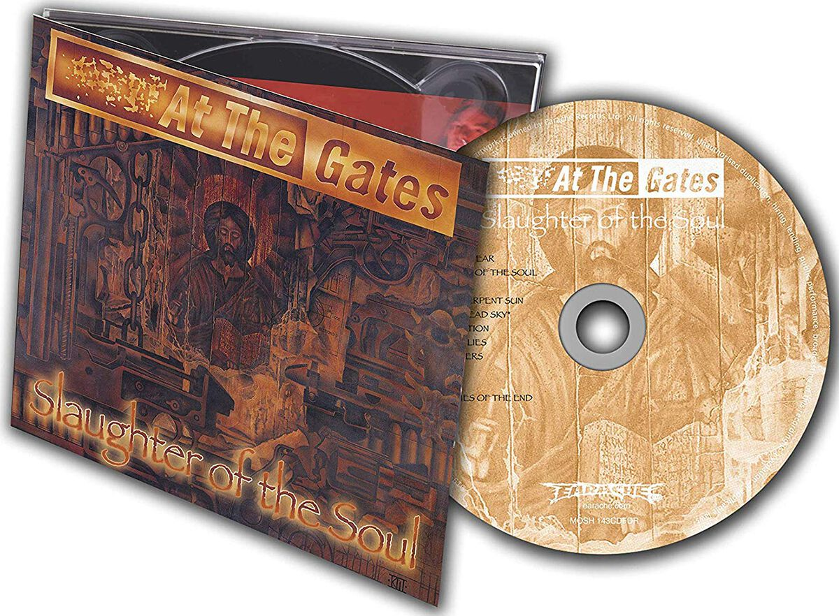 Image of At The Gates Slaughter of the soul CD Standard