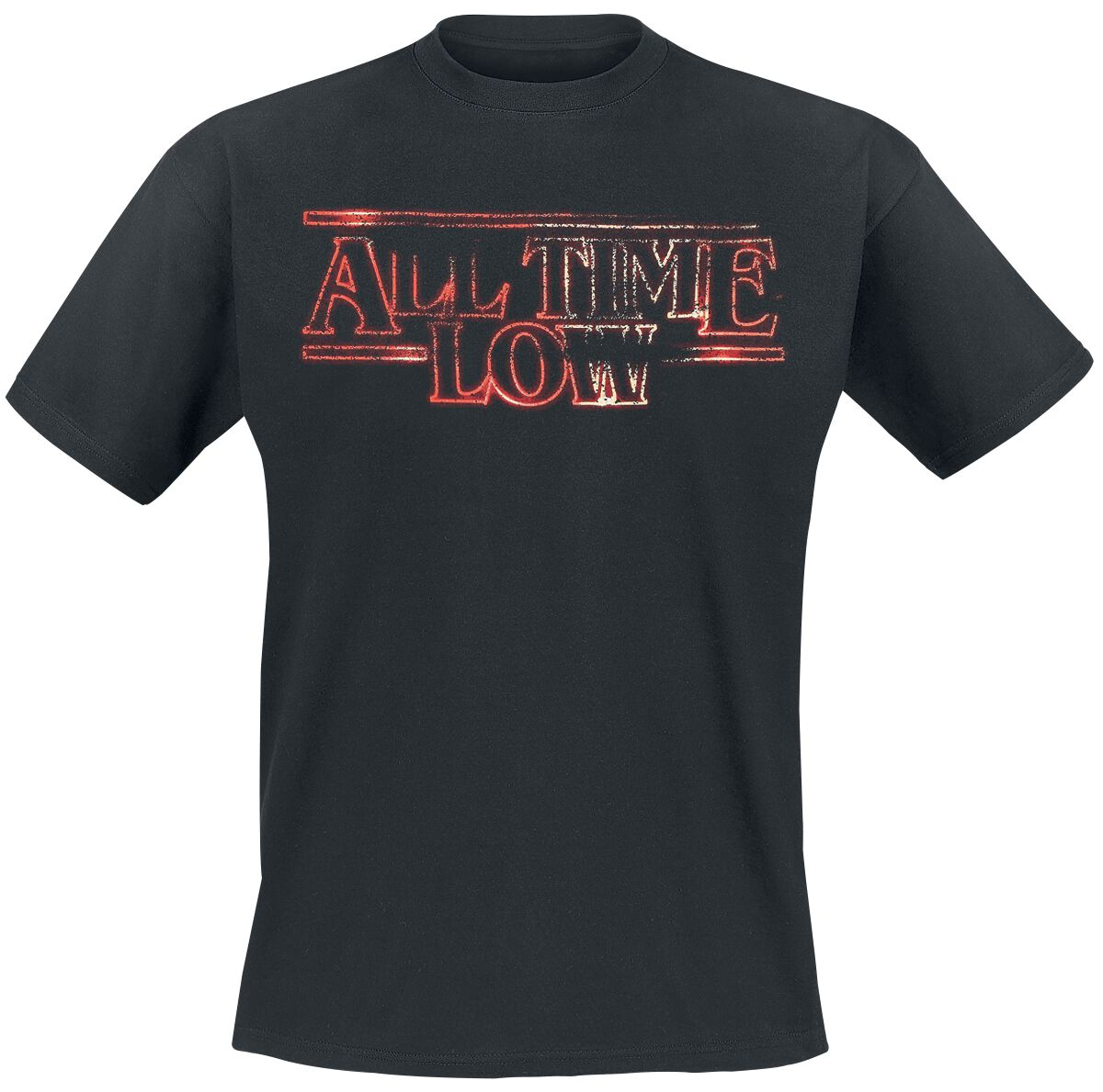 Image of All Time Low Glow T-Shirt schwarz
