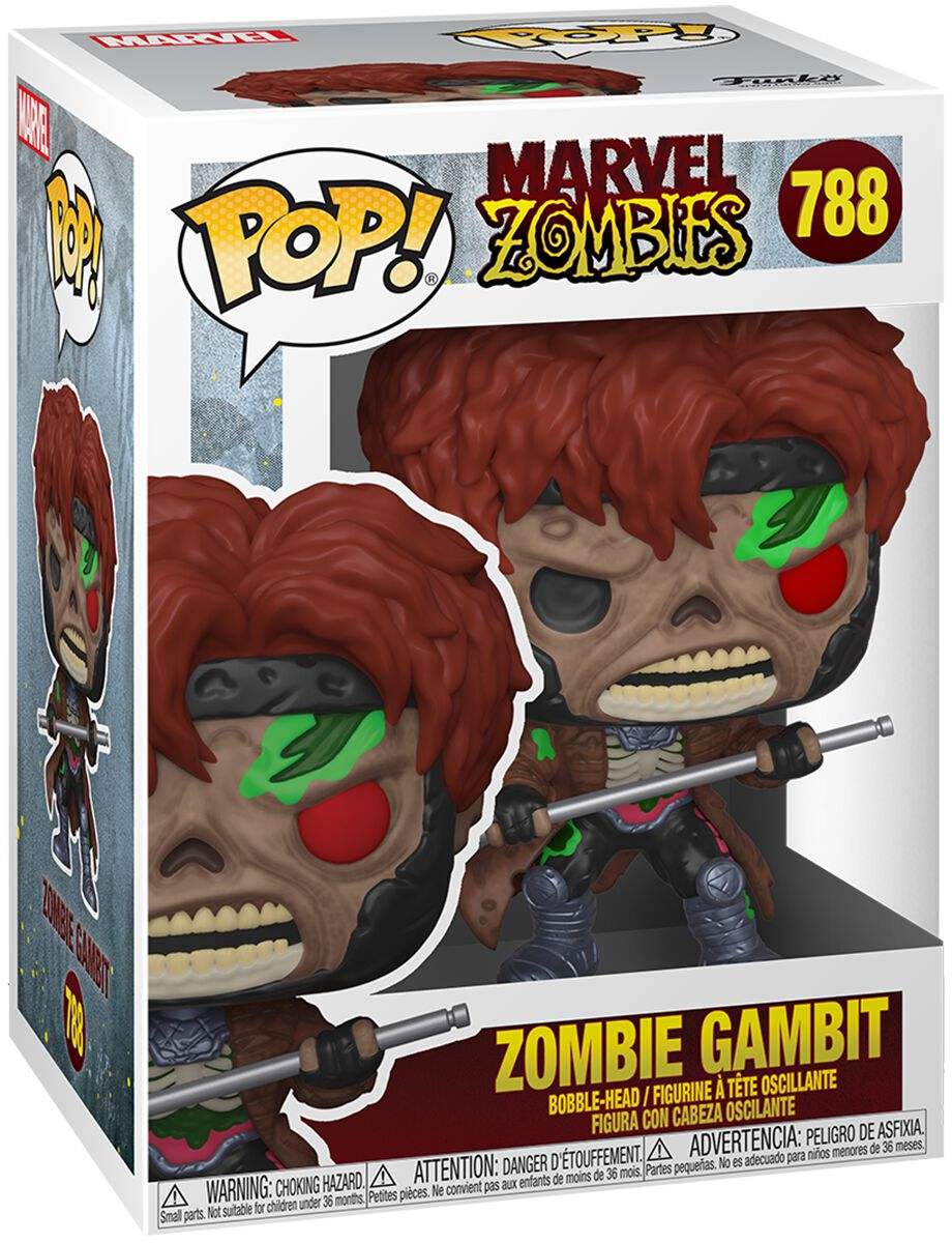 Marvel Zombies - Zombie Gambit Vinyl Figur 788 Funko Pop! multicolor 49941