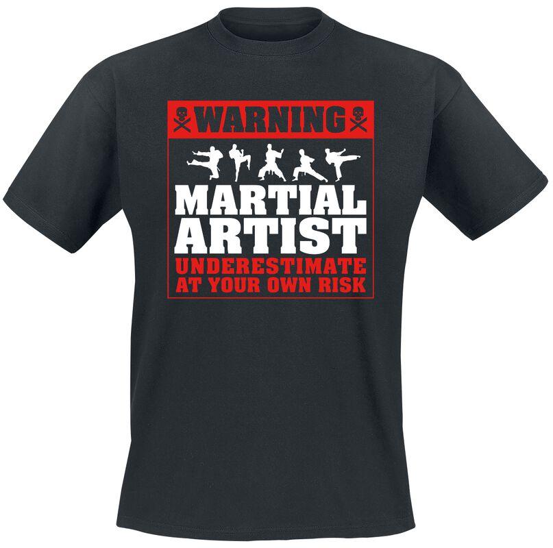 Warning: Martial Artist