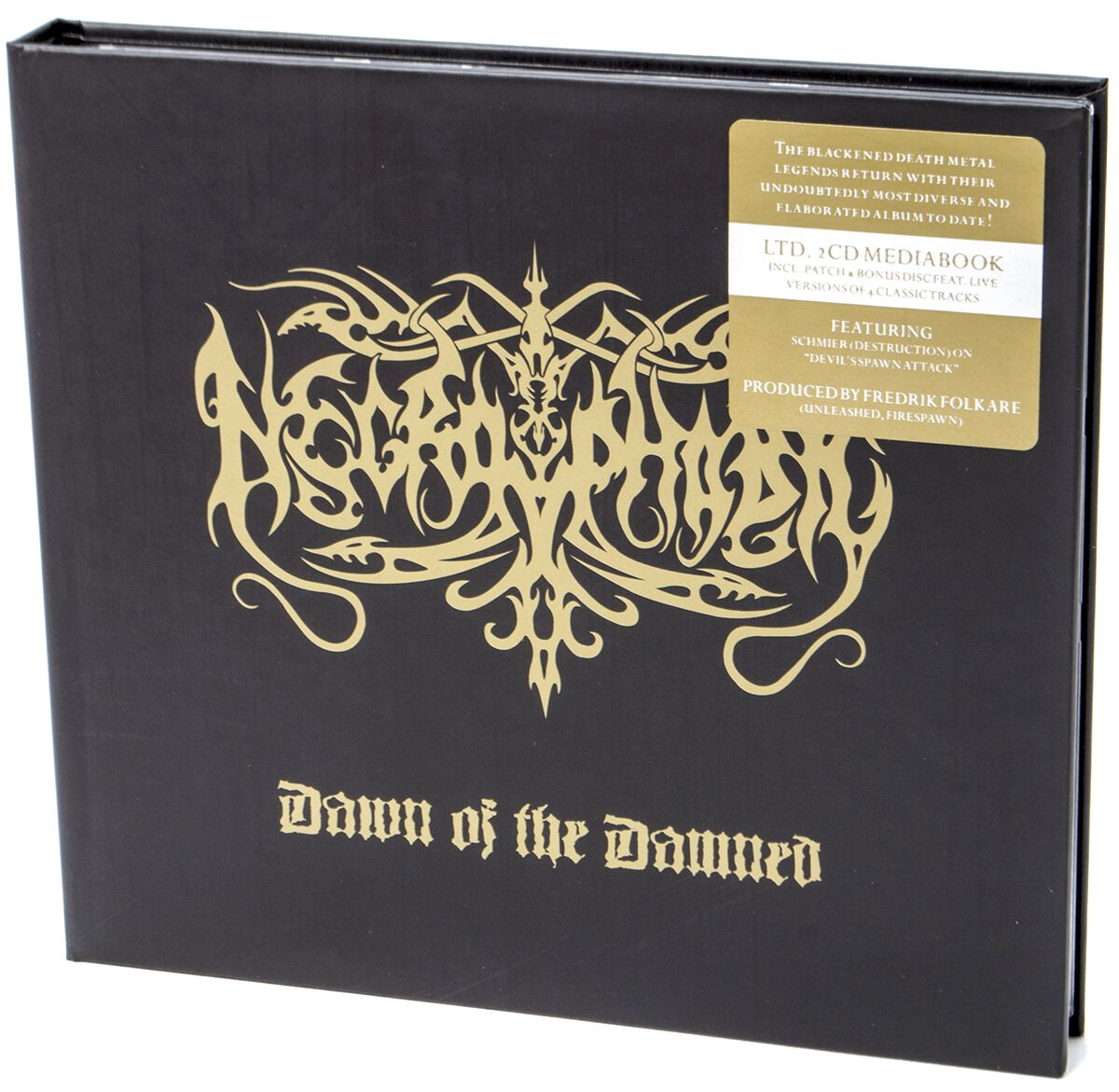Image of Necrophobic Dawn of the damned 2-CD & Patch Standard