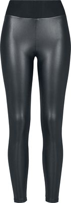 Ladies Faux Leather High Waist Leggings