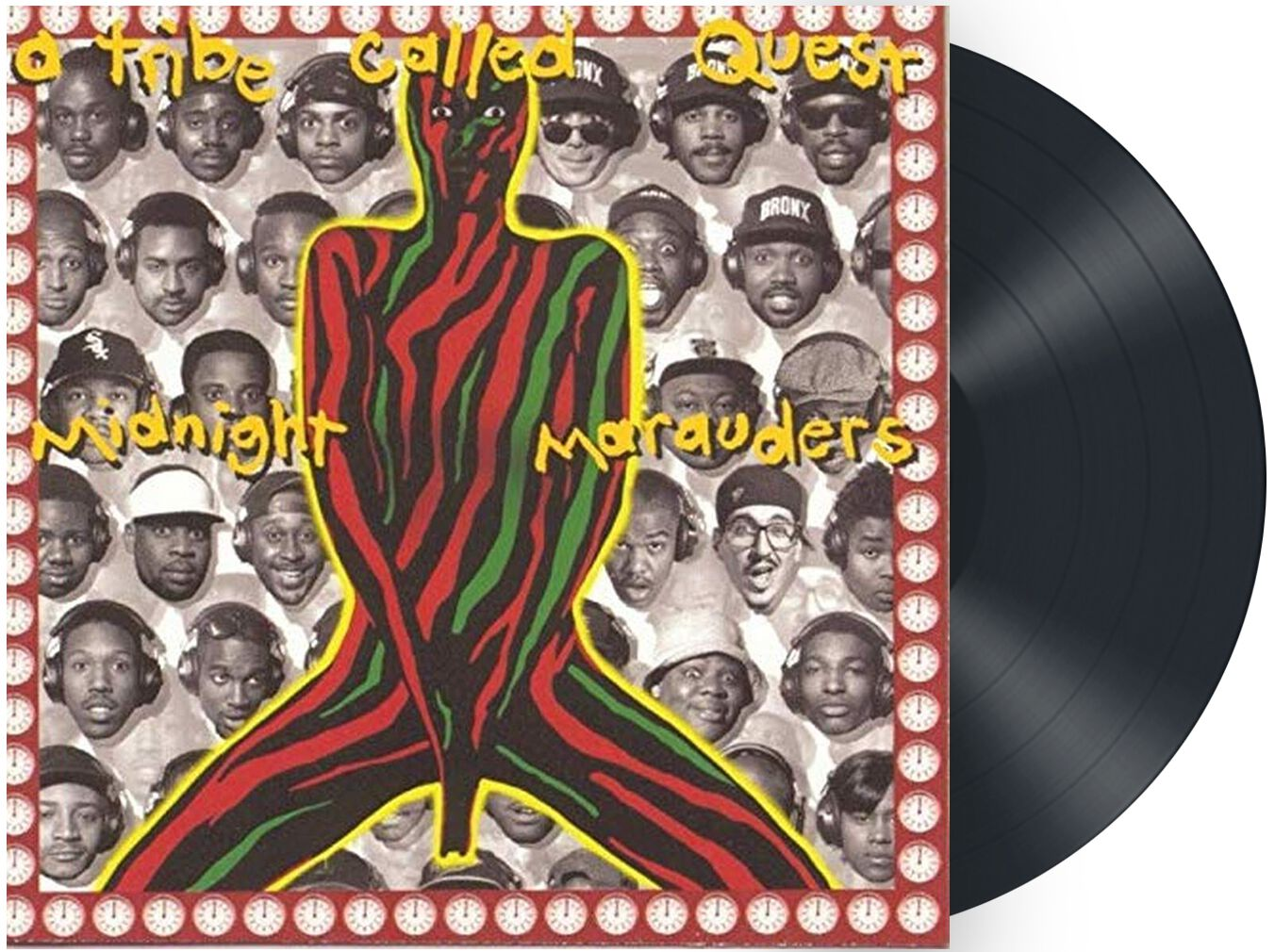 Image of A Tribe Called Quest Midnight Marauders LP schwarz