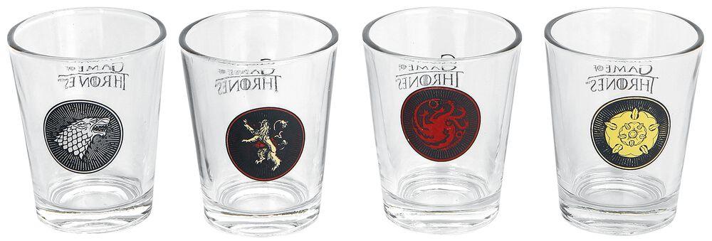 Stark, Targaryen, Lannister, Tyrell Sigils