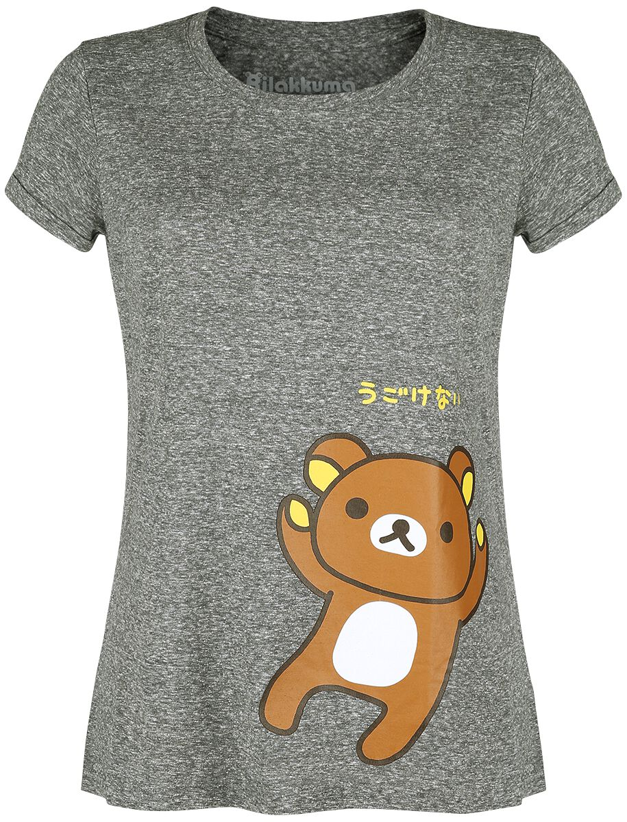Rilakkuma Rilakkuma T-Shirt grau TS803320 RIL-L