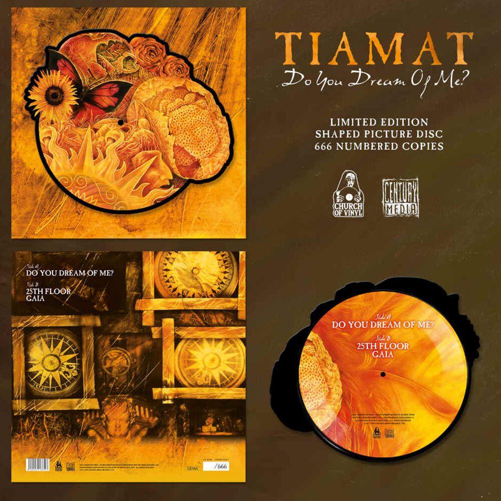 Tiamat Do you dream of me? LP farbig Do you dream of me - Shape Vinyl