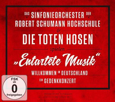 """Image of Das Sinfonieorchester der Robert Schumann Schule & Die Toten Hosen Entartete Musik"""" Willkommen in Deutschland – ein Gedenkkonzert"""" 2-CD & DVD Standard"""