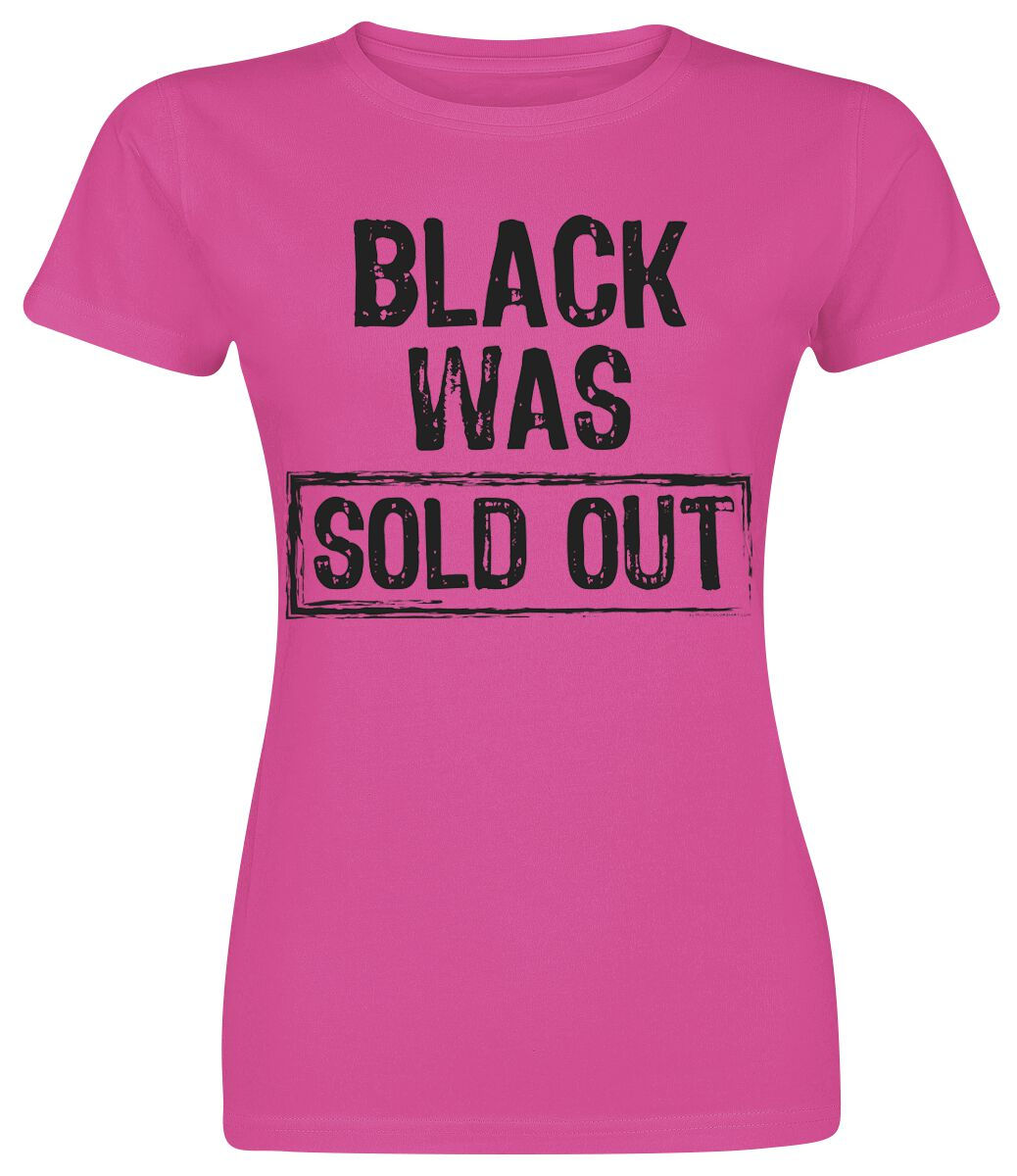 Black Was Sold Out T Shirt Emp
