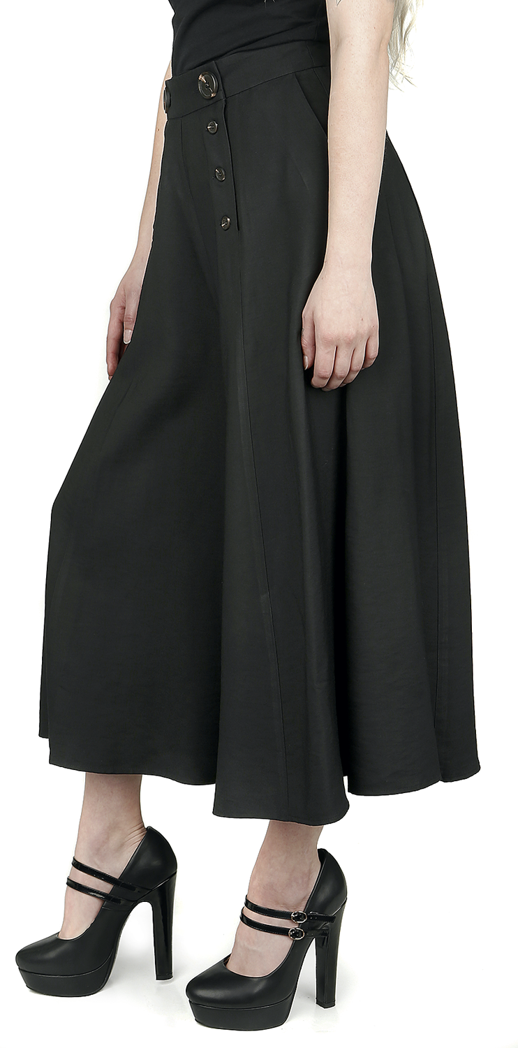 Hell Bunny - Murphy Culottes - Girls trousers - black image