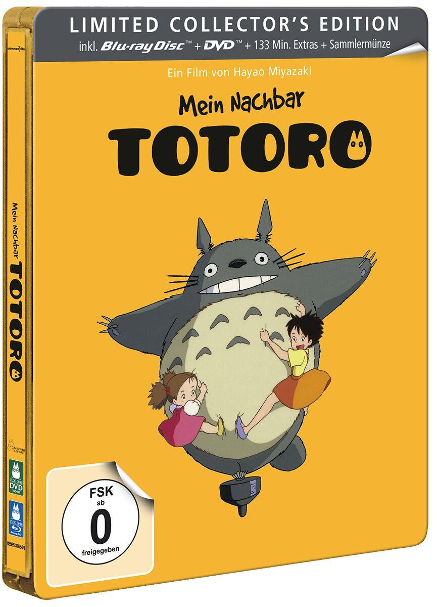 Image of Mein Nachbar Totoro Studio Ghibli - Mein Nachbar Totoro (Steelbook) Blu-ray & DVD Standard