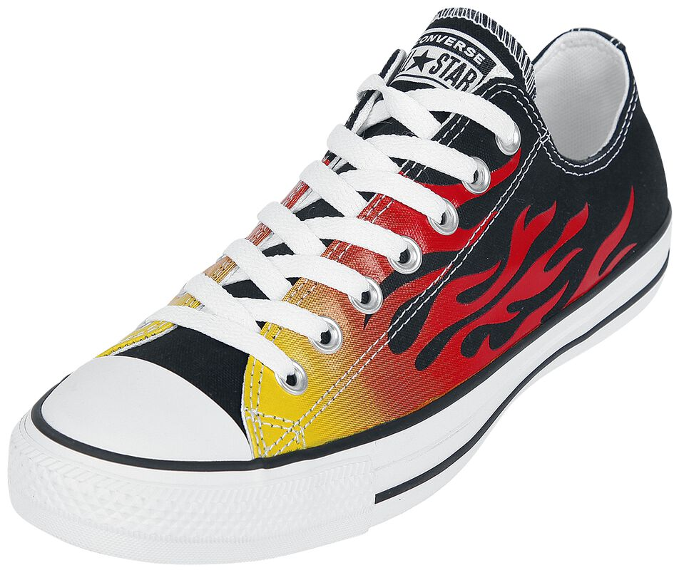 Chuck Taylor All Star Canvas Archive Flame Print OX