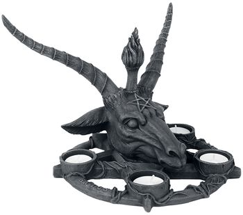 Baphomet Candle Holder
