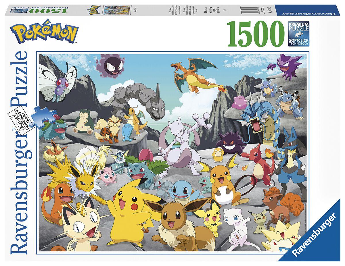 Pokémon Pokémon Classics Puzzle Puzzle multicolor 16784