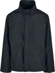 Double Pocket Nylon Crepe Jacket
