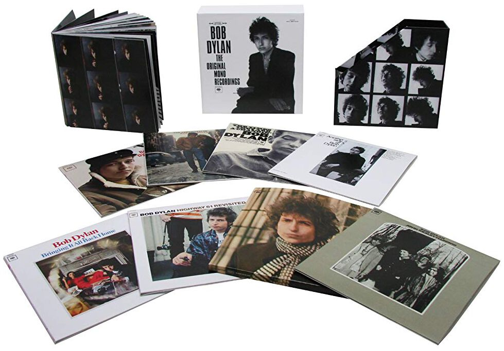 Image of Bob Dylan The original Mono recordings 9-CD Standard