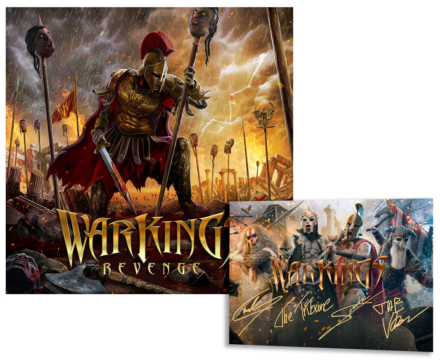 Image of Warkings Revenge CD & Autogrammkarte Standard