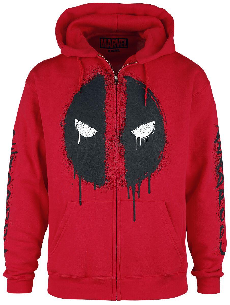 Deadpool Deadpool - Logo Kapuzenjacke rot .M422700 - FOTL - 62-034-0 - P0087