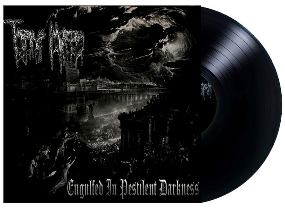 Engulfed in pestilent darkness