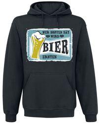 Wer Hopfen sät wird Bier ernten