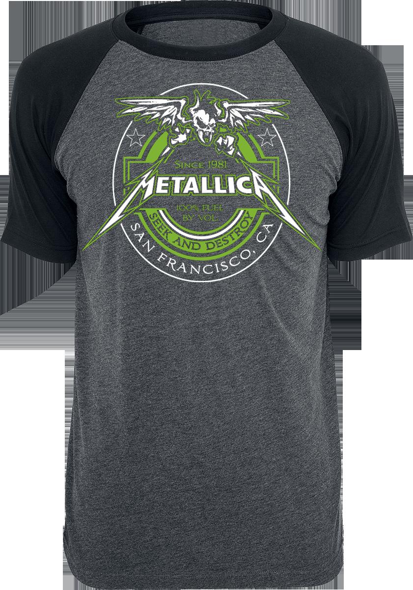 Metallica - Fuel - T-Shirt - charcoal-black image