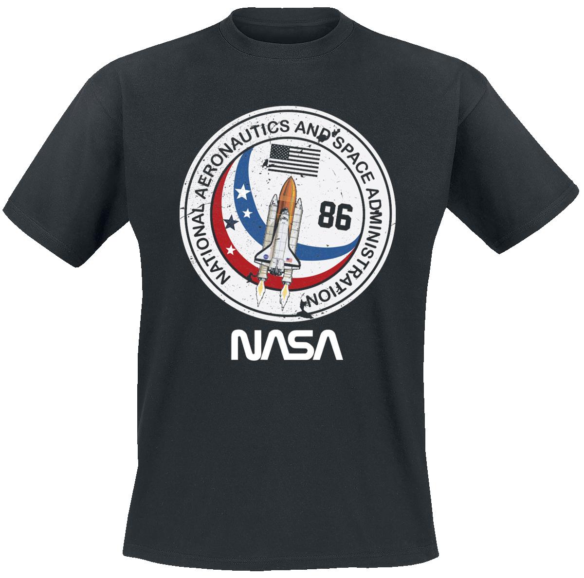 NASA - Shuttle 86 - T-Shirt - black image