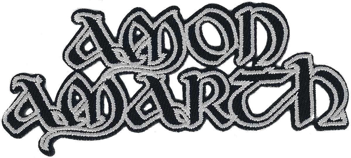 Amon Amarth  Cut-Out Logo  Patch  schwarz