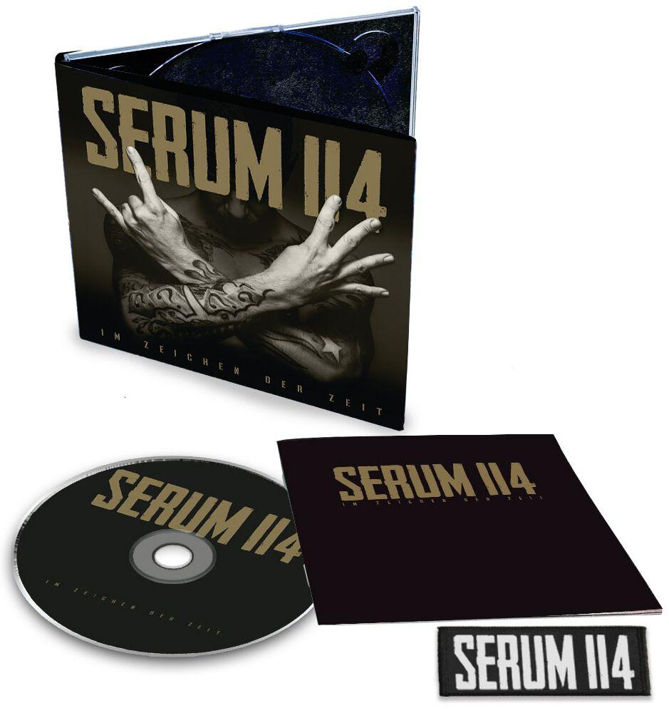 Image of Serum 114 Im Zeichen der Zeit CD & Patch Standard