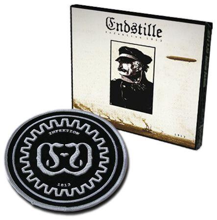 Image of Endstille Infektion 1813 CD & Patch Standard