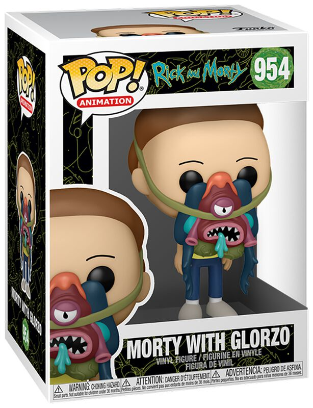 Morty With Glorzo Vinyl Figur 954