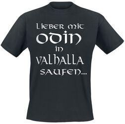 Odin in Valhalla