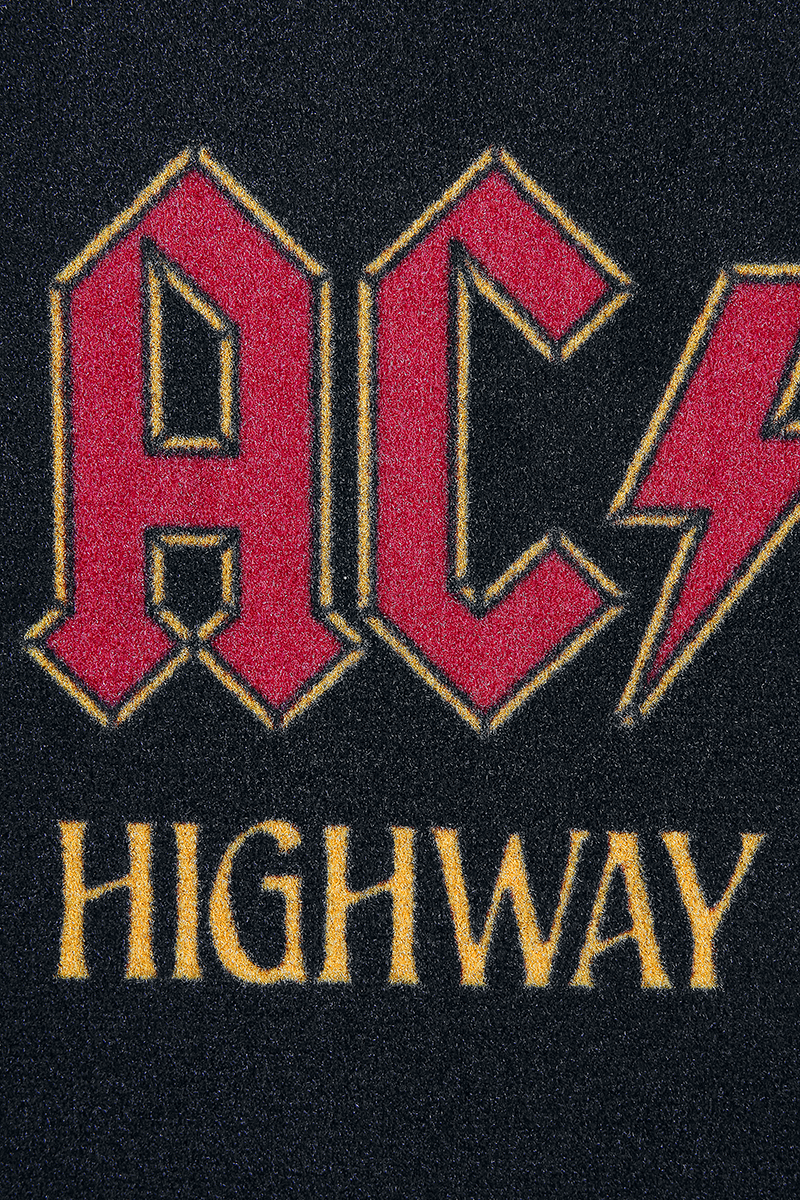 Image of AC/DC Highway to hell Fußmatte schwarz