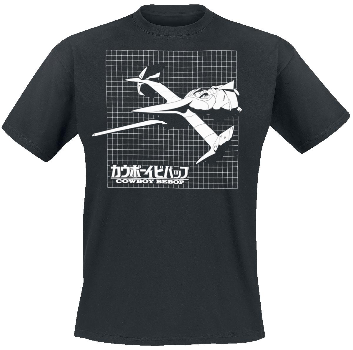 Cowboy Bebop - Grid - T-Shirt - black image