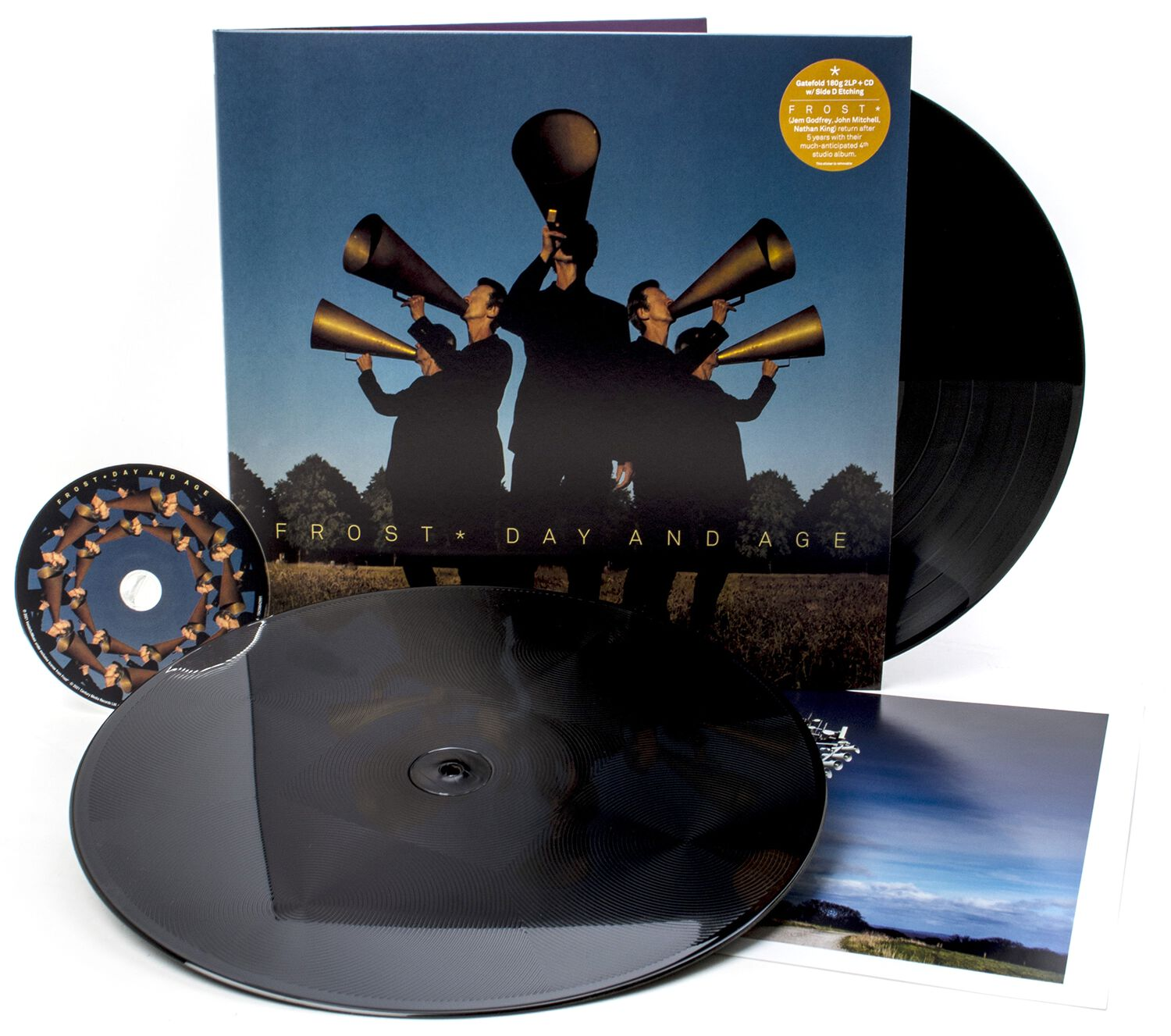 Image of Frost* Day and age 2-LP & CD schwarz