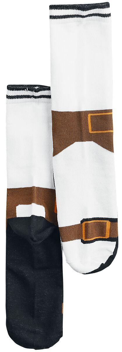Sandalen Socken Socken multicolor 11361