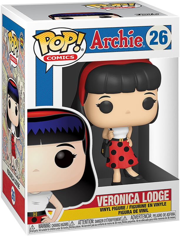 Veronica Lodge Vinyl Figur 26