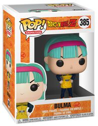 Z - Bulma in Yellow Outfit Vinyl Figure 385