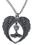 Wings, Car and Pentagram Necklace