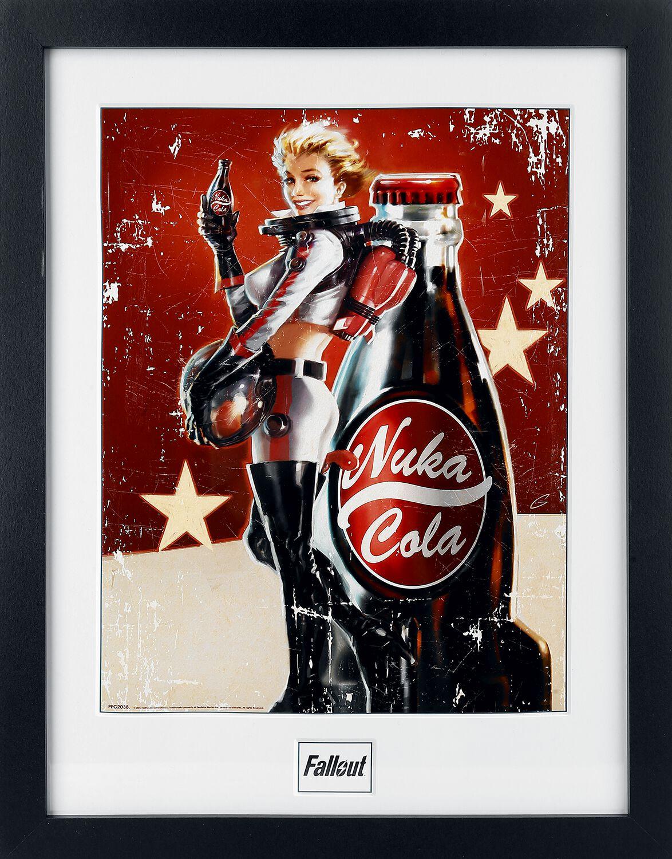 4 - Nuka Cola   Fallout Gerahmtes Bild   EMP