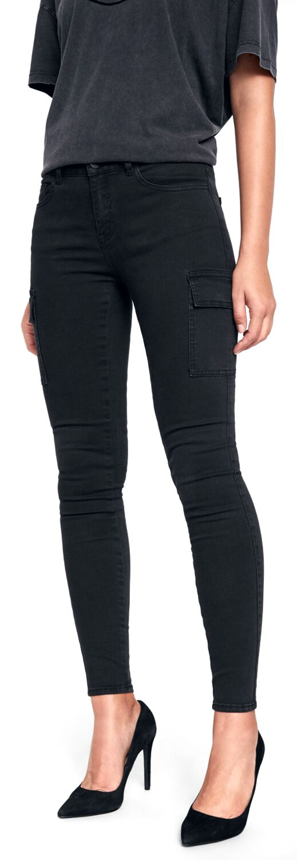 Image of Noisy May Lucy NW Utility Pants Cargopant schwarz
