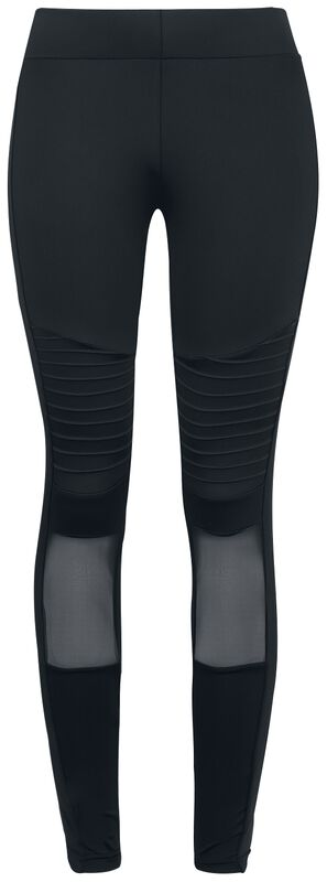 Ladies Tech Mesh Biker Leggings