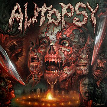Image of Autopsy The headless ritual CD Standard