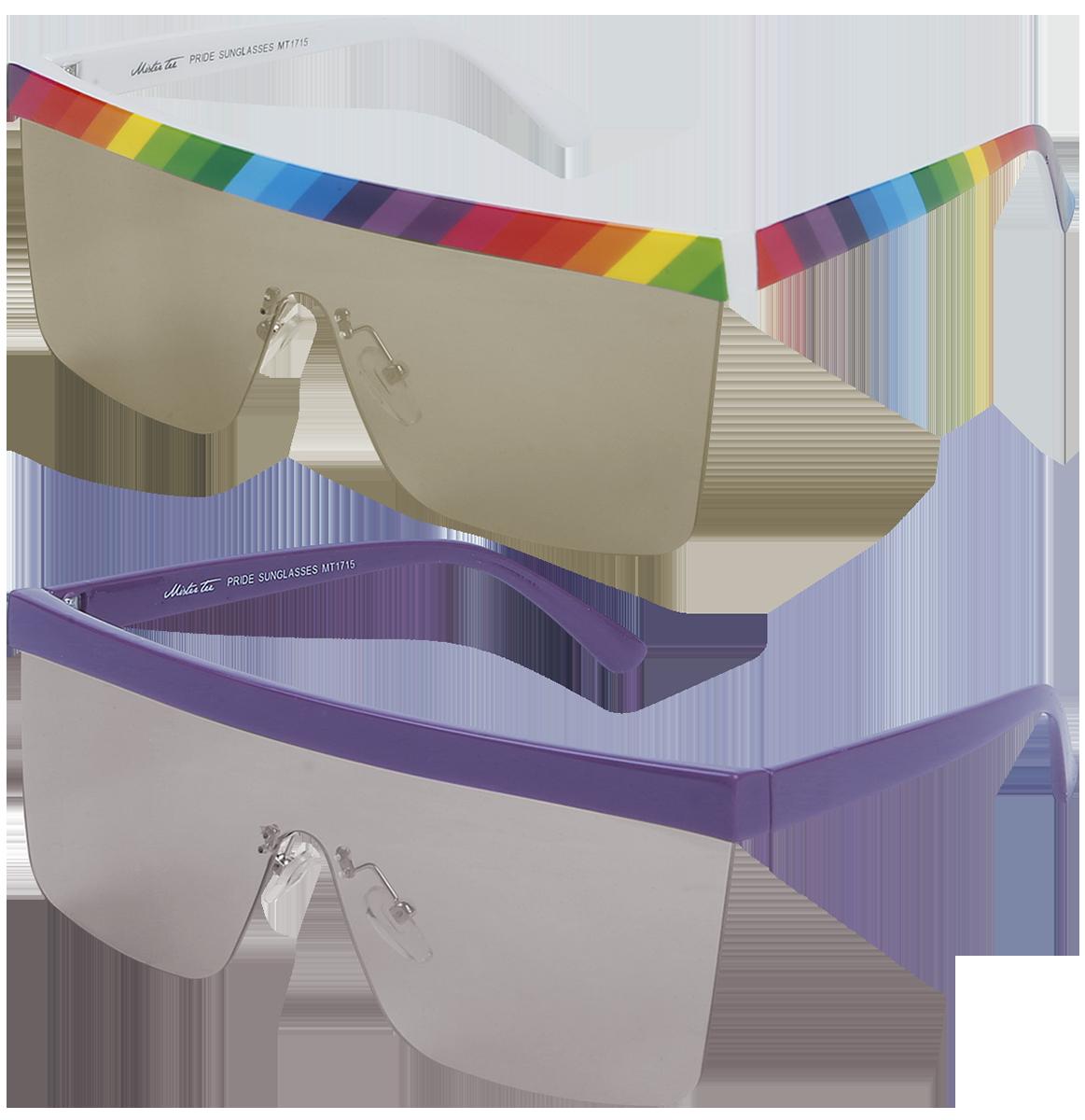 Mister Tee - Pride Sunglasses 2-Pack - Sonnenbrille - multicolor