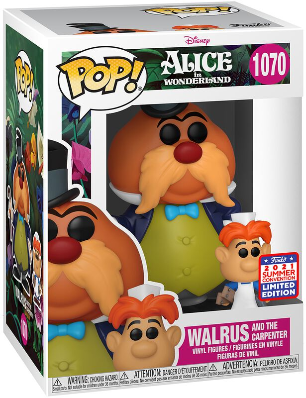 Walrus and the Carpenter (SDCC 2021) Vinyl Figur 1070