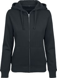 Ladies Sweat Zip Hoody