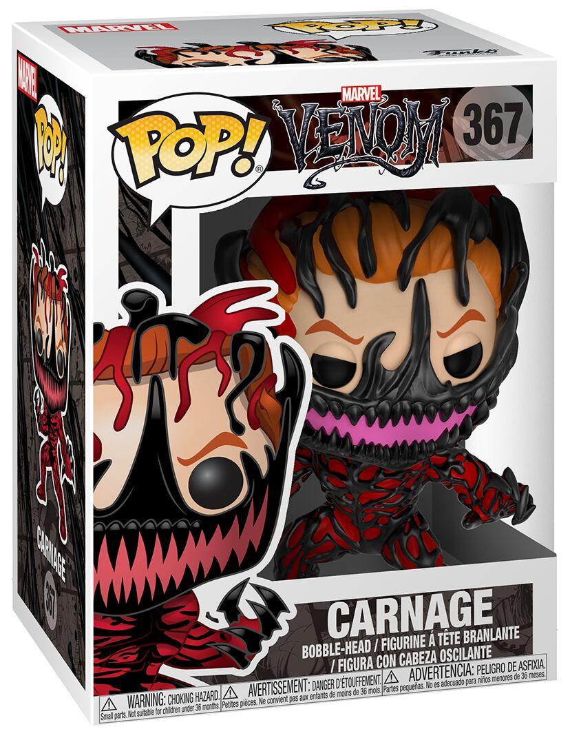 Venom (Marvel) Carnage Viinyl Figure 367 Funko Pop! multicolor 33073