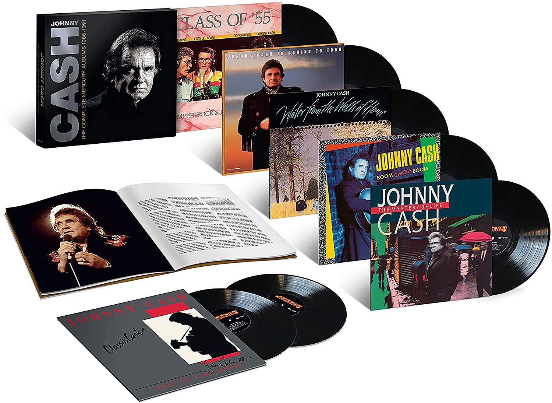 Image of Johnny Cash Complete Mercury Albums 1986-1991 7-LP Standard