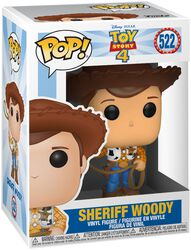 4- Sheriff Woody Vinyl Figure 522