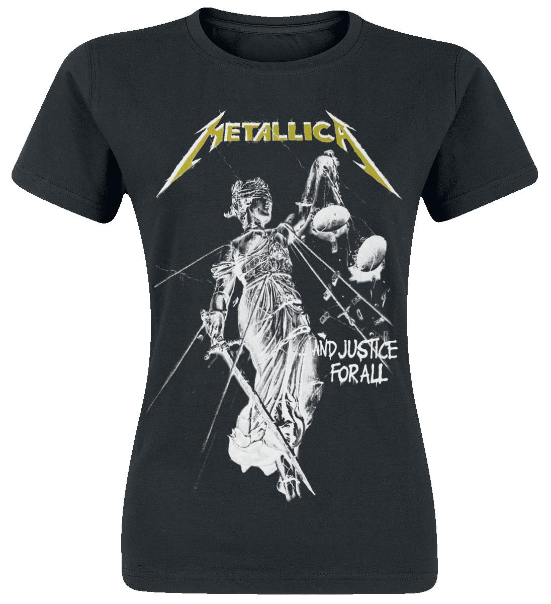 Metallica - Justice Classic - Girls shirt - black image