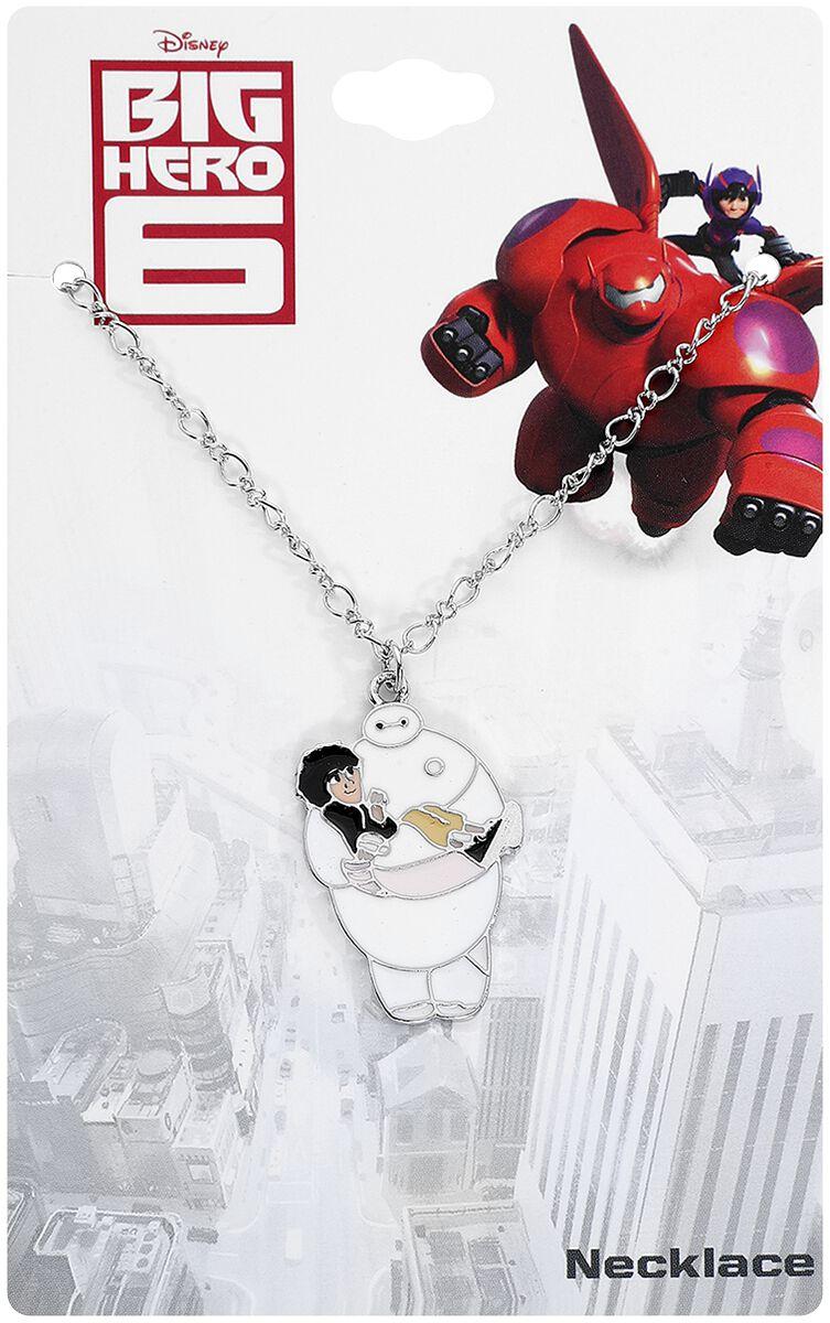 Ketten für Frauen - Baymax Hug Necklace Halskette silberfarben  - Onlineshop EMP