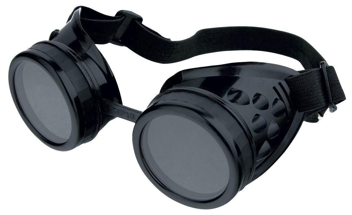 Cyber Goggles   Kostüm  schwarz